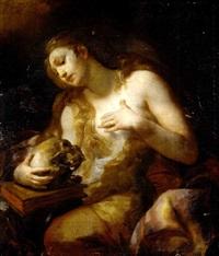 maria magdalena, la maddalena by johann franz michael rottmayr