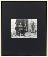 picasso et jacqueline, villa la californie, mougins by edward quinn