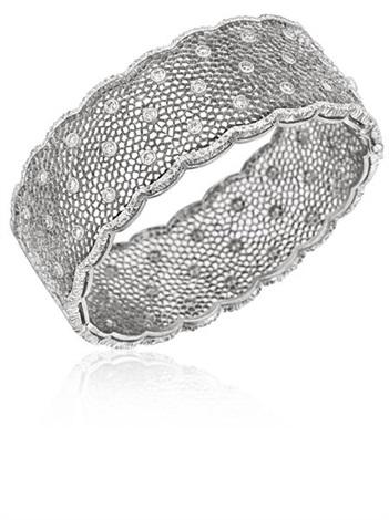 tulle bracelet by buccellati