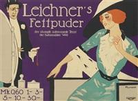 leichner's fettpuder by friedrich carl georg (fritz) rumpf