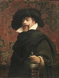 ritratto di cavaliere by edoardo gelli