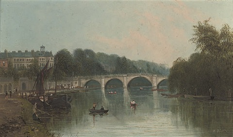 a view of richmond from the river by m allan