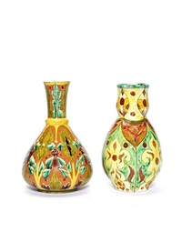 vases (2 works) by annie smith