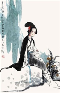 李清照 by guo wentao