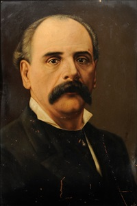 retrato de caballero by francisco alfaro