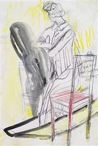 der stuhl steht neben dem kahn by romane holderried-kaesdorf