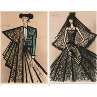 1. escamillo 2. carmen (2 works) by bernard buffet