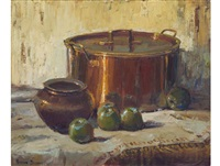 copper and apples by adriaan hendrik boshoff
