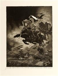 der weltkrieg. ein totentanz (portfolio of 15 incl. title pg. w/justif. & foreword) by ludwig hesshaimer