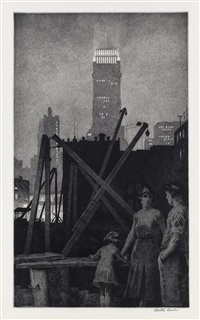 manhattan lights by martin lewis