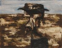 antipodean head by albert lee tucker
