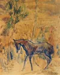 cheval by jean dufy
