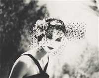 anne-saint-marie, new york, chanel advertising campaign, 1958 by lillian bassman