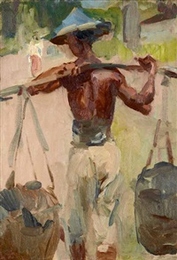 water carrier by isaac israels