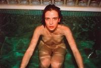 amanda in the sauna, hotel savoy, berlin by nan goldin