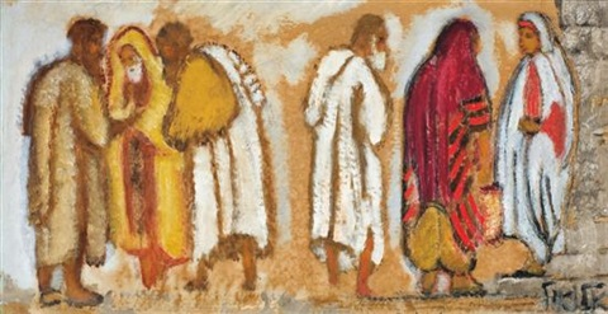 jewish figures by arieh allweil