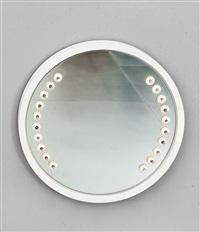 specchio da parete luminoso by gino sarfatti
