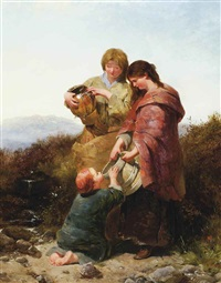 the water carriers by james john hill and henry bright