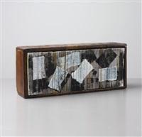 untitled (encyclopedia) (28 works) by josh smith