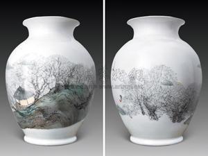 村野风情 by zhu daoping
