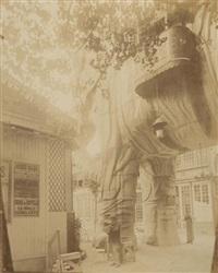 l'éléphant du moulin rouge by eugène atget