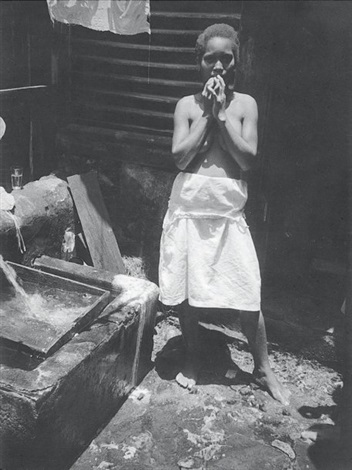 jeune femme africaine by roger parry