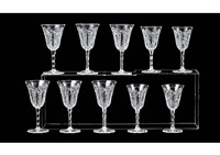 wine glass: conde (set of 10) by baccarat