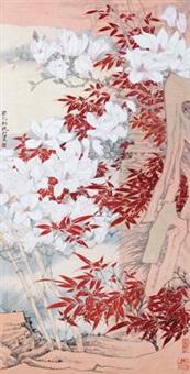 玉兰 by mo xiaosong