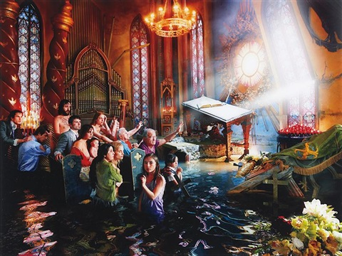 cathedral los angeles by david lachapelle