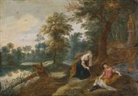 landschaft mit pyramus und thisbe by jasper van der laanen