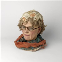 sketch head by duane hanson