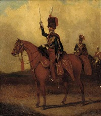 the 11th prince albert's own hussars by henry martens