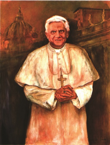 pabst benedikt xvi by monika obert wecker