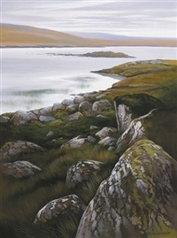 west of ireland landscape by richard ward