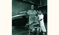 la famille du mécanicien, barrio carapita, caracas by vieri tomaselli