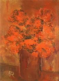 still life in red by harry reid