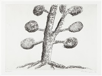 topiary, the art of improving nature: plate 4 by louise bourgeois