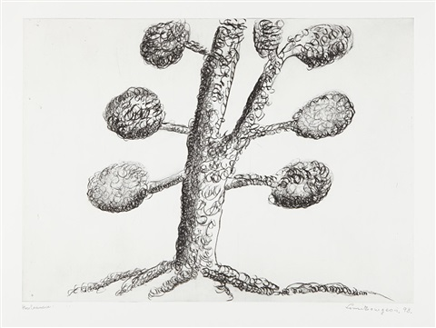 topiary the art of improving nature plate 4 by louise bourgeois