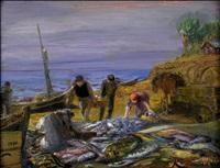 fishermen by yuri il'ich repin