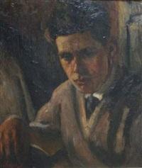portrait d'un jeune homme by vasili semenovich svarog