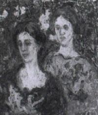 dos mujeres by andres de santa maria