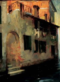 a byway, venice by florence carlyle