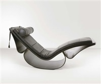 chaise longue rio by oscar niemeyer