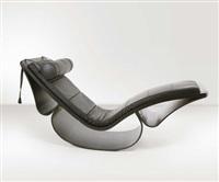 chaise longue rio by oscar niemeyer