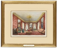 a drawing room, rue de rivoli, paris by fanny holden
