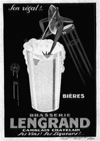 brasserie lengrand (by phi) by posters: advertising