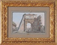 monumenti romani (set of 4) by anonymous (19)