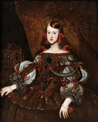 margarita teresa av spanien 1651 1673 by diego rodríguez de silva y velásquez