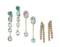 pairs of pendant earrings (set of 3) by vhernier