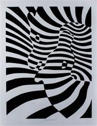 cebras by victor vasarely